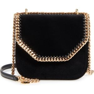 STELLA MCCARTNEY Mini Falabella Velvet bag